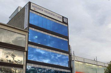 Notario 62 del círculo de Bogotá